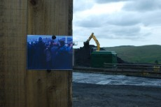 Still from Ffos-y-fran/Miner's Strike sequence