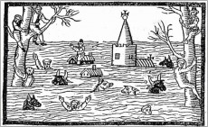 1607 Floods Woodcut - Drowned World