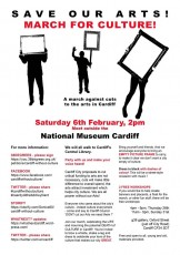 march for culture poster